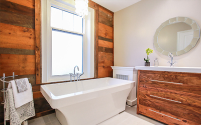 Landshape Contracting bathroom renovation