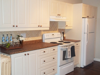 kitchen white cabinets